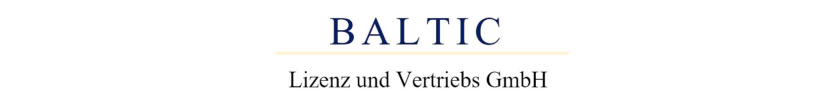 BALTIC Lizenz und Vertriebs GmbH - Am Holm 25 - 23730 Neustadt in Holstein